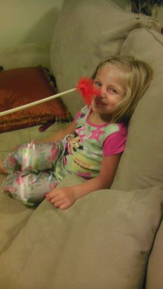 LDS Primary Chorister must have....smile stick...dowel with feather. looks like fun!