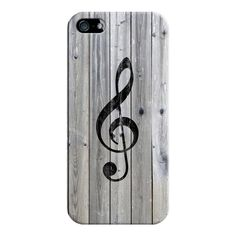 iPhone 6 Plus/6/5/5s/5c Case - Vintage White Music Note Treble Clef... ($35) ❤ liked on Polyvore featuring accessories, tech accessories, iphone case, apple iphone cases, iphone cover case, wooden iphone case and slim iphone case