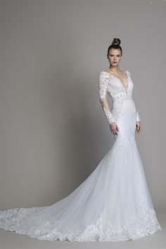 e4441baf22a3 Mermaid wedding dress brand new to Kleinfeld by Love by Pnina Tornai. |  Style: Kleinfeld Bridal