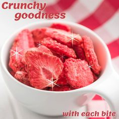 Freeze Dried Fruit, Freeze Drying, Frozen, Strawberry, Snacks, Canning, Vegetables, Food, Appetizers