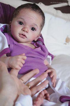 Melissa George Reborn Baby Prototype Julietta Awake Extremely Detailed   eBay