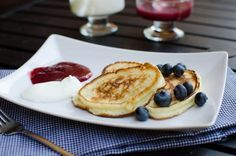 Russian Pancakes Oladi Recipe- made with shredded apples and kefir