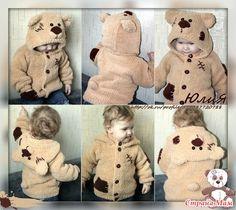 - Knitting for children - with . Crochet For Boys, Knitting For Kids, Baby Knitting, Crochet Baby, Days Hotel, Pullover, Baby Boy, Teddy Bear, Children