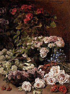 Claude Monet, Spring Flowers