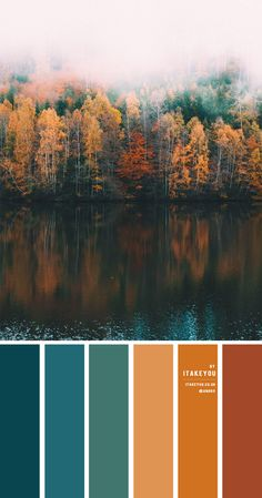 teal and brown, teal and mustard, autumn colour palette, autumn colour ideas, autumn colour scheme #autumn #autumncolour #autumncolourcombo #colorcombo Orange Palette, Dark Color Palette, Orange Color Palettes, Rust Color Schemes, Color Schemes Colour Palettes, Color Combos, Room Colors, House Colors, Pumpkin Colors