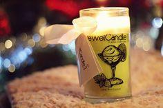 Je suis totalement conquise de ma bougie Jewel Candle parfum fruité au citron vert et à la menthe.