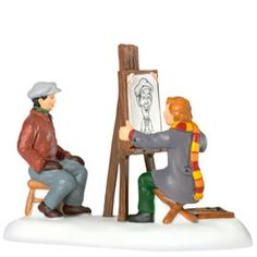 "Department 56: Products - ""The Caricature Artist"" - View Accessories"