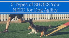 Take the guesswork out of shoes...here is what you NEED for dog agility!
