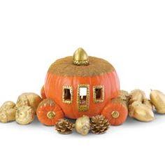 Pumpkin Coach and Golden Acorns