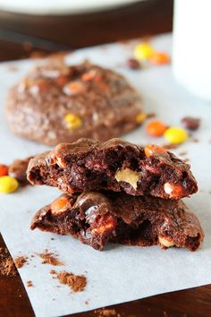 YES. Soft Batch Peanut Butter Double Fudge Brownie Cookies. Only 6 ingredients and makes the softest, richest chocolate cookies ever!!