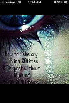 This actually works! I will so use this onstage! If you can't repost, don't blink for 5 or 10 seconds.