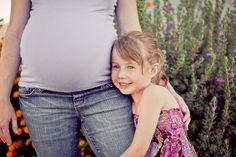 maternity belly