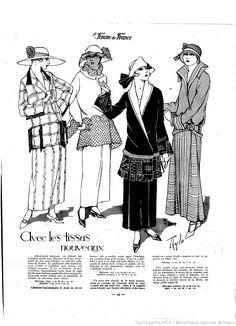 Les Modes de la femme de France | 1923-03-04 | Gallica