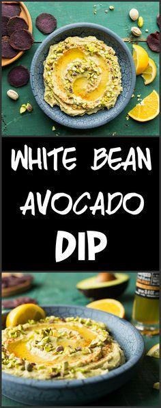 White Bean and Avocado Dip