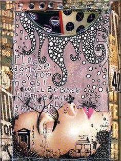 Teesha Moore Visual Journal Page Mixed Media Journal, Mixed Media Collage, Collage Art, Kunstjournal Inspiration, Art Journal Inspiration, Journal Ideas, Creative Journal, Creative Art, Art Journal Pages
