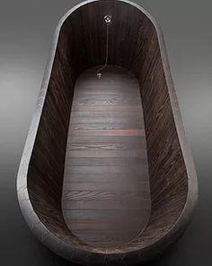 Binnenbaden van hout/onze baden