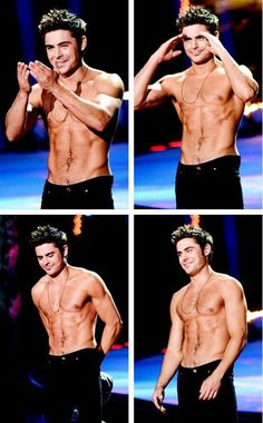 Because Zac Efron is the most beautiful person on earth and I could stare at him for days.