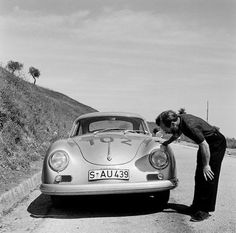 Targa Florio 1958.Class Winner,Jenkinson,Porsche 356.