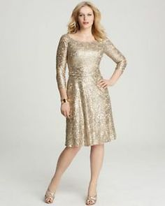 Mother of Bride (plus size - this comes in a gown in regular sizes and I am considering purchasing gown in sz 8 and shortening).  This is a young looking sophisticated mother of bride dress