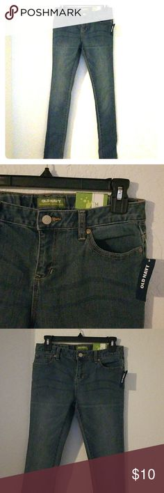 Girls skinny jeans Super Skinny jeans with adjustable waist and extra stretch material Old Navy Bottoms Jeans