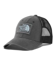 6b56296690b Go retro and sport this classic trucker hat that s crafted of washed cotton  canvas and breathable