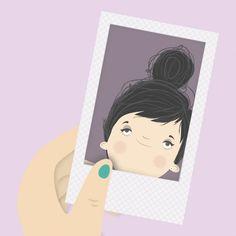 """{ em tempos de """"caras e bocas"""" e fotos editadas, comprei uma Polaroid !!! O mais engraçado são as caretas, a espontaneidade"""