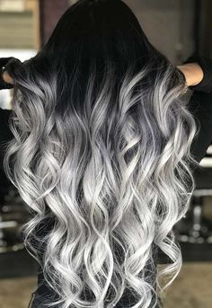 42 Impressive Dark and Stormy Hair Colors for Long Hairstyles 2018