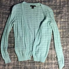 Light blue cardigan Only worn once. In great condition Forever 21 Sweaters Cardigans