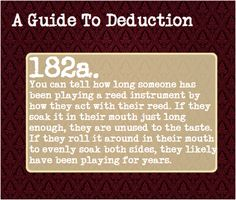 A Guide To Deduction, Submitted by: larkharlow