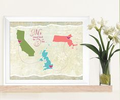 A holiday trip an unexpected romance by marcie forest on etsy wed small personalized wedding gift or wedding guest book alternative world map connecting places style gumiabroncs Image collections