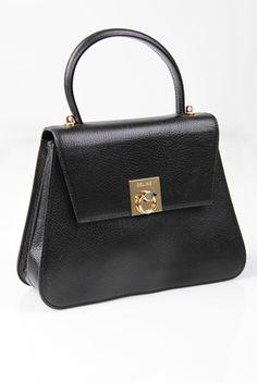 Classy lines on this vintage Celine. Celine Handbags d0564f524505e
