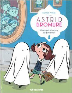 Astrid Bromure, chasse aux fantômes http://www.ligneclaire.info/parme-33653.html