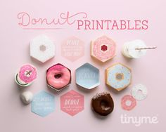 Donut Box Printables - In The Playroom
