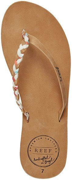 852a317e2d23 Reef Premium Twyst Flip-Flops - Women s