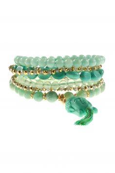 #karma I turquoise arm candy combination by NEW ONE I NEWONE-SHOP.COM