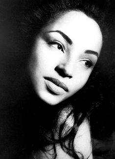 Sade, the most beautiful woman in the world.