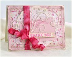 beautiful pink thank you