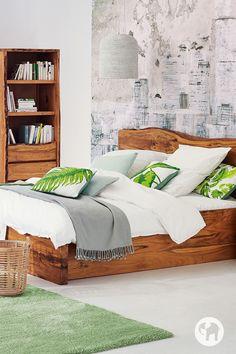 Metallbett PALERMO mit hohem Fußteil | Schlafzimmer | Bett, Günstige ...