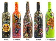 Wine+Bottle+Art+Projects | We will be doing Wine Bottles. So post in here ideas that you find for ...