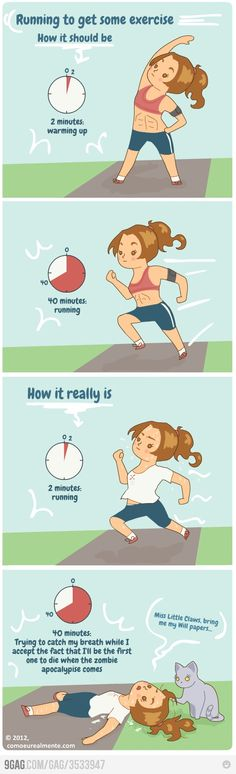 yeah pretty much. They forgot the additional 20 minutes at the beginning trying to figure out what I'll wear so other runners don't know I have no idea what I'm doing!