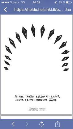 Työpaja Brain Breaks, Social Skills, Drawing, Brain Training, Sketches, Drawings, Draw