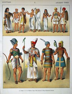 Egyptian costuming