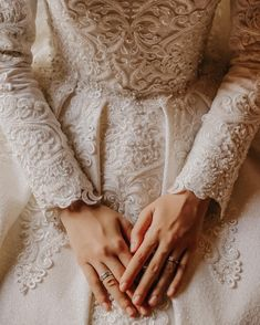 Hijab styles 471189179766948296 - Source by ppuspitasari Muslimah Wedding Dress, Muslim Wedding Dresses, Couple Wedding Dress, Wedding Couples, Wedding Hijab Styles, Couple Photoshoot Poses, Photoshoot Style, Most Beautiful Dresses, Bridal Photography