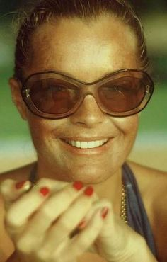 Romy Schneider vintage everyday: 31 Coolest Sunglasses That Celebrities Used to Wear in the 1960s