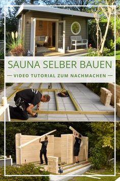 In unserem Video Tutorial zeigen wir Ihnen in einer Schritt für Schritt Anleitung, wie Sie das Saunahaus Enns-70 oder ähnliche Sauna- oder Gartenhäuser selber bauen bzw. aufbauen können. #sauna #selberbauen