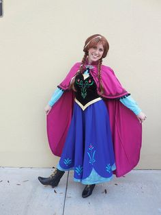 anna frozen costume by prestigecouture on etsy - Halloween Anna Costume