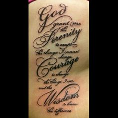 #tattoo #serenity #prayer #ribs #ouch #victoreledezma @Victor Mota Ledezma @kingskreationtattoo