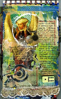 Amazing Art Journal Page
