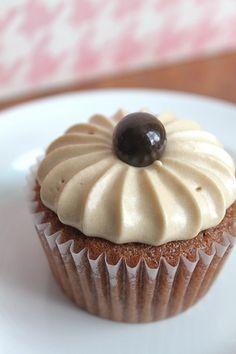 Pomegranate Velvet Cupcakes