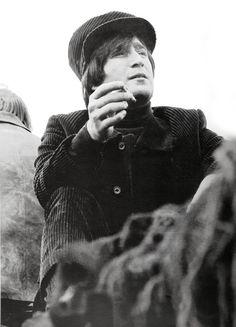 annyskod:  John Lennon on the set of 'Help!' © Emilio Lari
